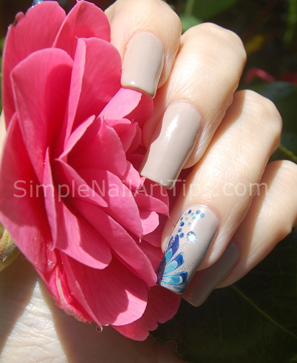 Wonderful Flower Nail Art Tutorial 600 x 733 · 73 kB · jpeg